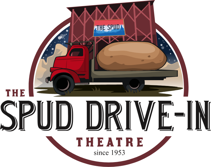 The Spud Drive In Theater Logo